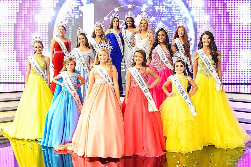 Royal International Miss pageant title winners