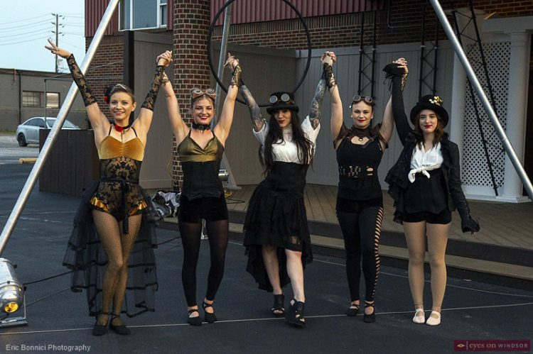 Aerialist Deanna Takes On Directing Role in Steampunk Circus Opening Friday