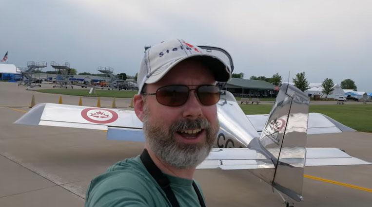 Pilot Steve Thorne of Flight Chops