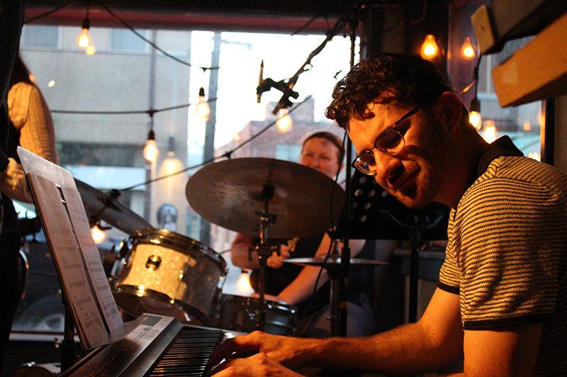 Andrew Adoranti: Coffee House Combo Band Member