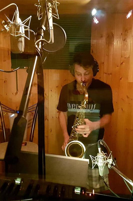 J#Major band member Byron Harrett