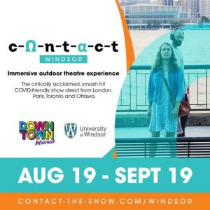 CONTACT Windsor Outdoor Theatre Poster