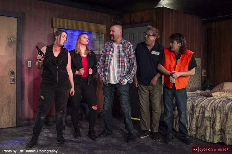 Local Cast Deliver Outrageous Cartoon-Like Performance in Criminal Genius by Post Productions