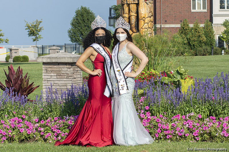 Jordan Taylor and Melina Svab Miss Tecumseh