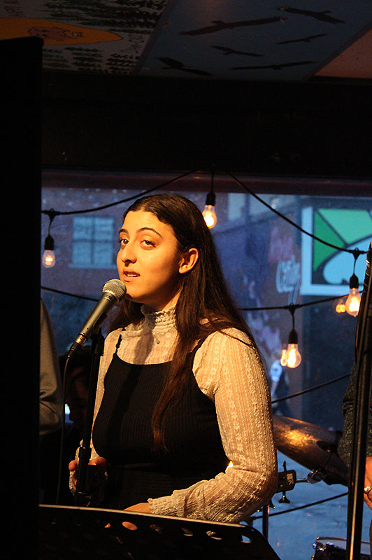 Natalie Culmone: Coffee House Combo band member