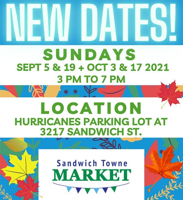 Sandwich Towne Market Poster