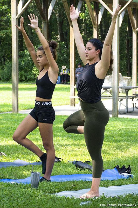 Yoga 4 Hope participants