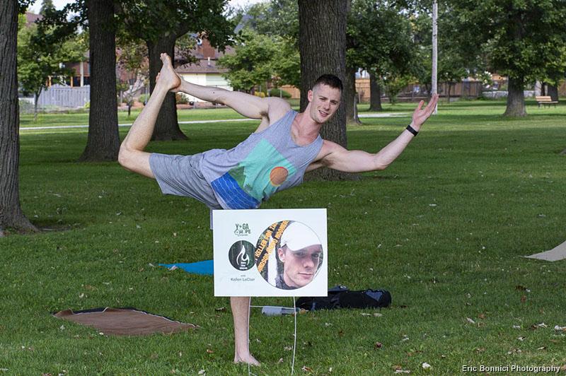 Kellen LeClair of Modo Yoga