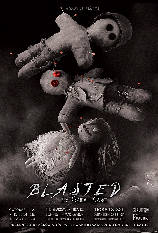 Blasted by Post Productions Windsor Poster