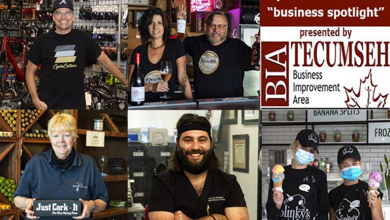 Eyes On Tecumseh Business Spotlight: Cycling, Wine, Whisky, Vision Care & Ice Cream