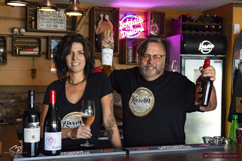 Karma Wine & Whisky Lounge: Michelle Tremblay and Greg Gynp