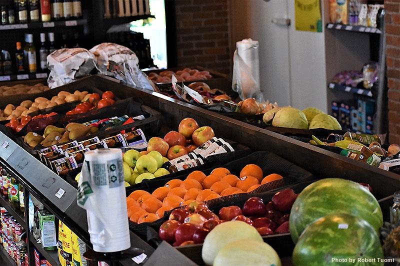 Fruit and Vegetables at La Vern's Market