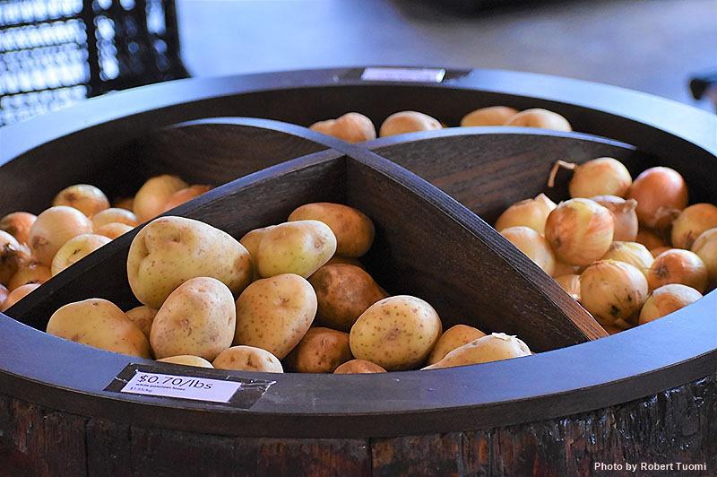 Potatoes Onions La Vern's Market