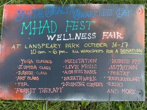 MHAD Fest | Mental Health Awareness Day Poster