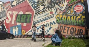 Windsor Graffiti Scooter Tour