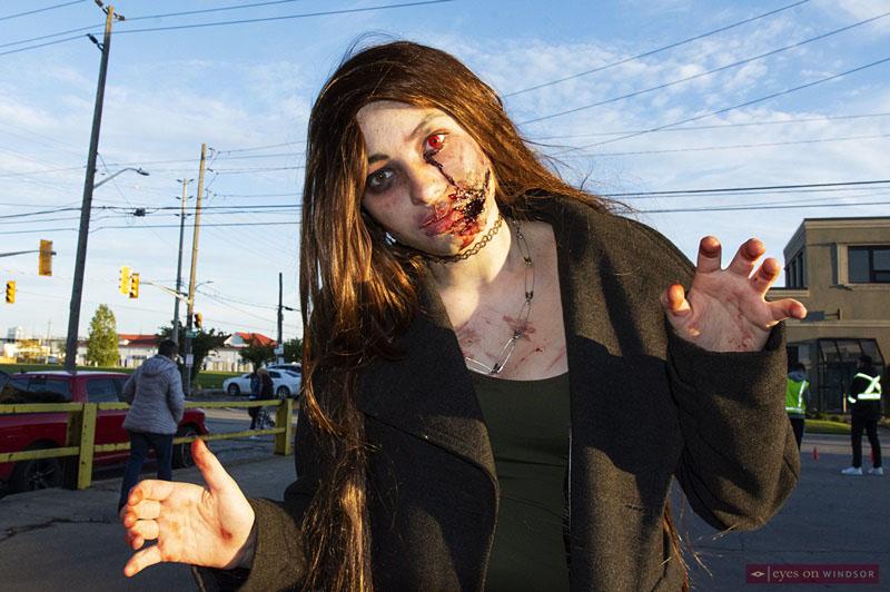 Brianna Bonnici Windsor Zombie Walk