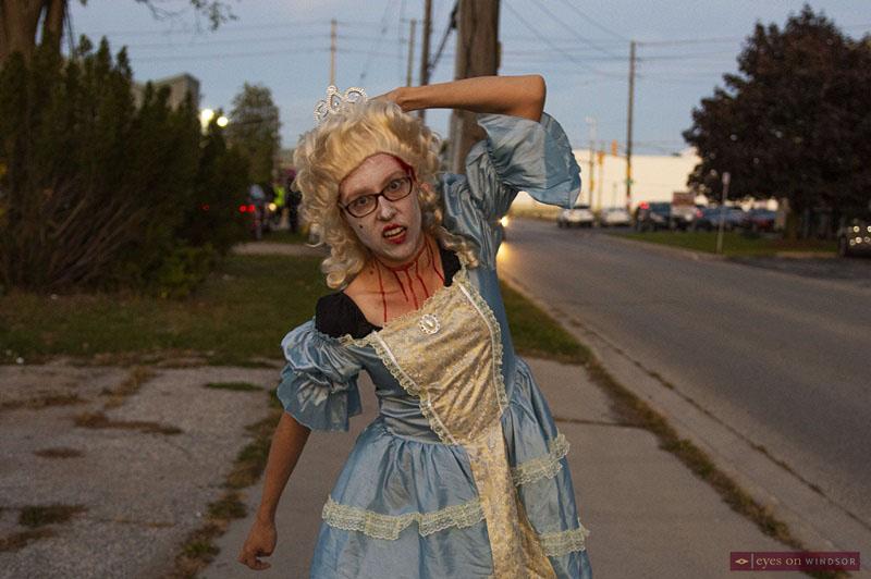 Windsor Zombie Walk Participant